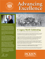 Advancing Excellence Volume 10