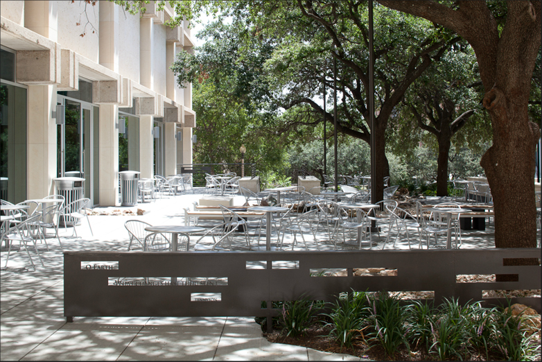 JSG Student Center Courtyard
