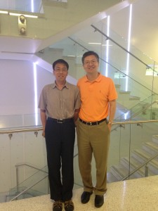 Dr. Liming Zhou and Dr. Zong-Liang Yang