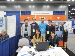 UT Booth, AMS 2013