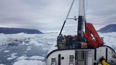 Greenland ice breaker