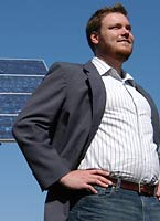 Bryan Osborne, EER graduate student focusing on alternative and clean energy.