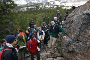 Mark Helper Leads GEO 660 Field Course