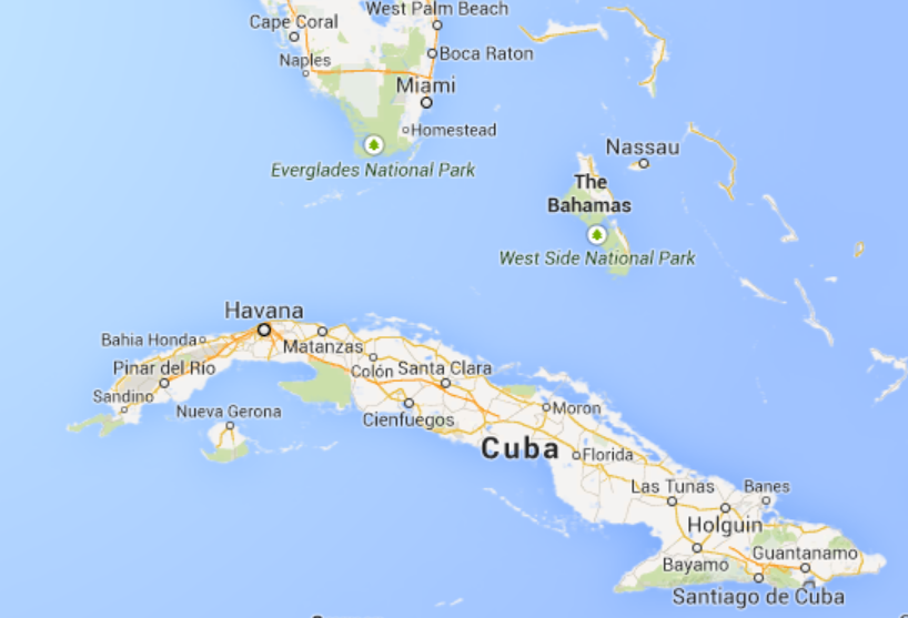 More Oil Drilling Map Of Cuba Operation Sea Signal