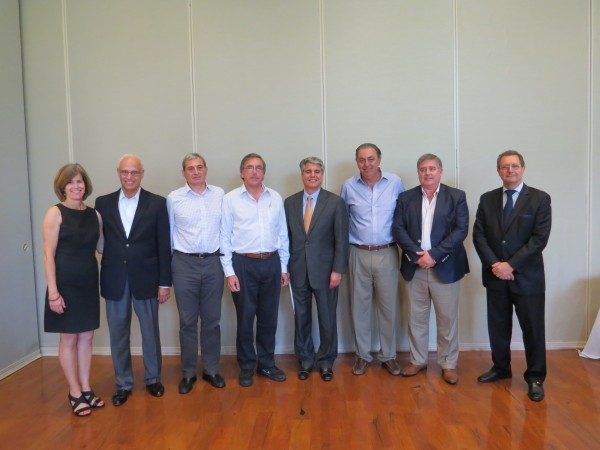 University of Texas at Austin hosts Argentinian Delegation Energy Group