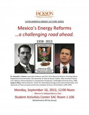 LATIN AMERICA ENERGY LECTURE SERIES