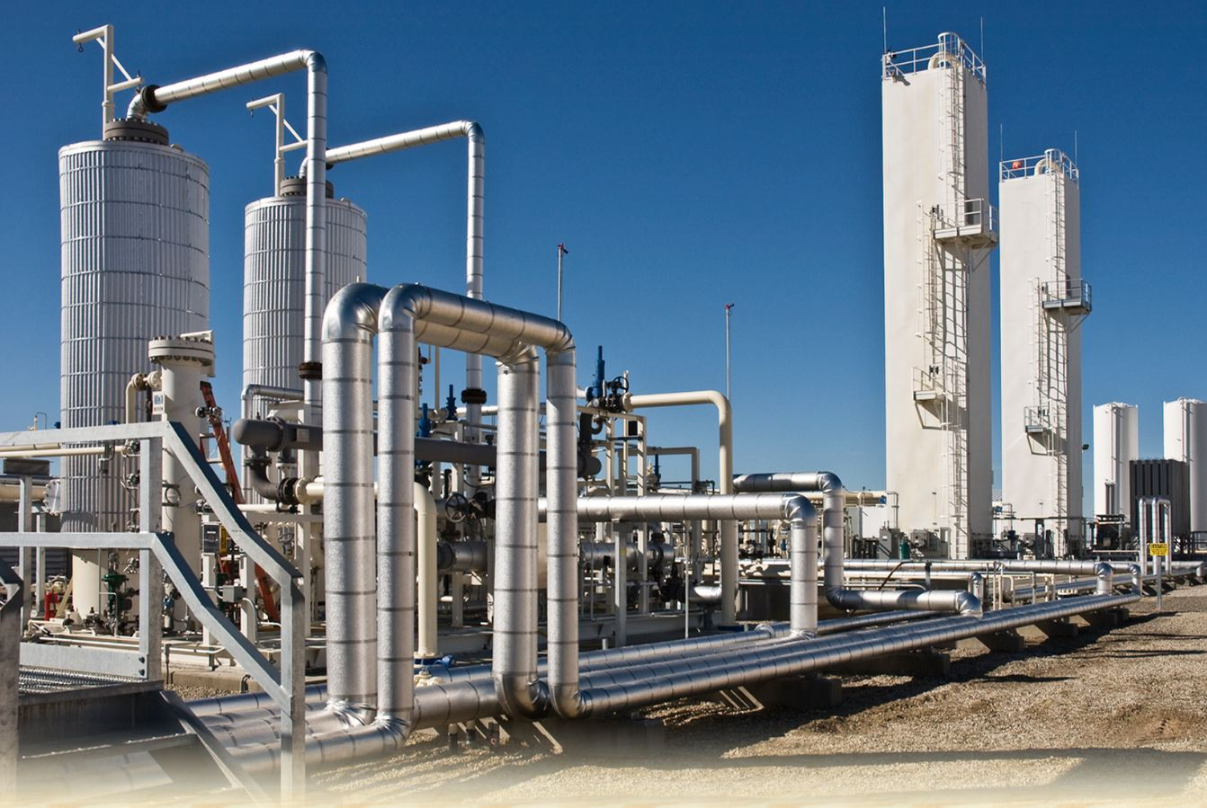 Natural Gas Power Plant Construction