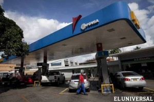 Pdvsa guarantees gasoline supply in central states