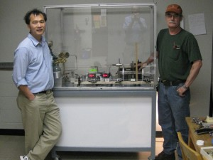 Afu Lin (left) and Roger Gary (right) with AIR Loader