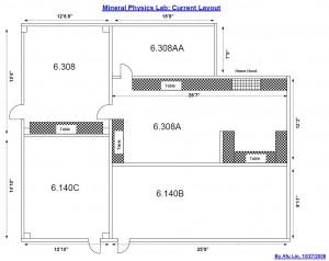 Original Lab Floorplan