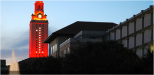 The Jackson School's educational buildings are in the heart of the main UT Austin campus.