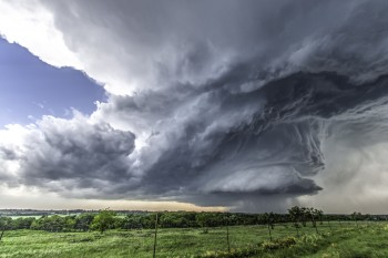 New research from The University of Texas at Austin shows that aerosols create larger storm clouds capable of producing more rain. BrianKhoury