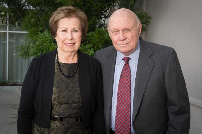 Connie Dyer (B.A. '58) and Byron Dyer