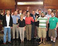 The 2008-2009 FANs Alumni Board