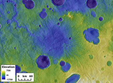 Goudge Breached Mars Lake