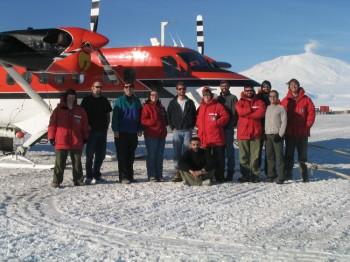 UTIG & BAS Scientists in Antarctica 2004