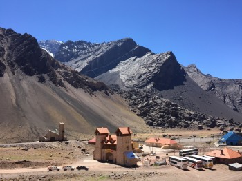 A scence from the Andes in Argentina. Photo courtesy of Brian Horton.