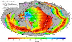 Breakup of Supercontinent Pangea Cooled Mantle and Thinned Crust