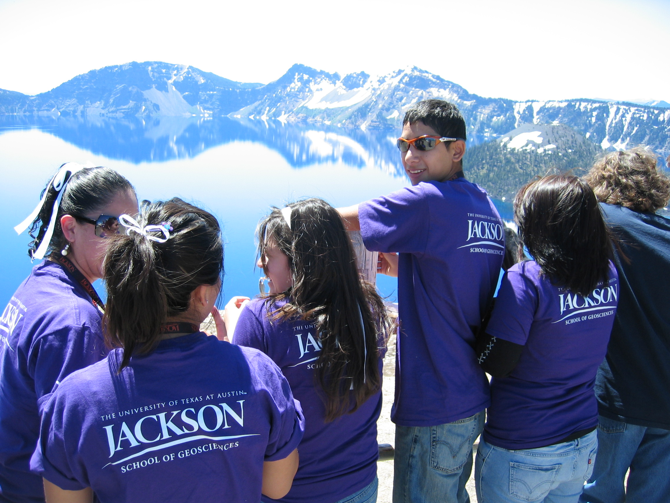 first wave geoforce texas students graduate from college jsg news geoforce students at crater lake