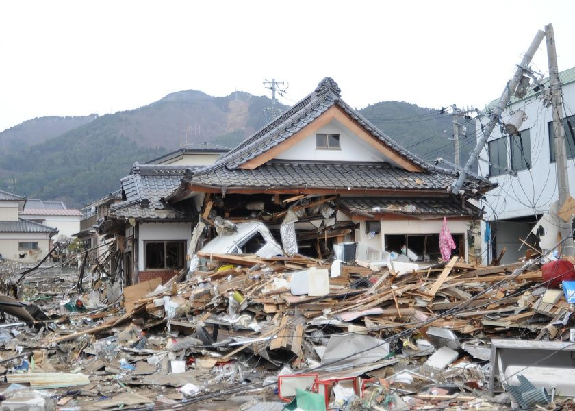 Search And Rescue Workers Arrive In Ofunato