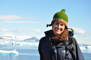 Julia Clarke, a paleontologist with The University of Texas at Austin Jackson School of Geosciences, is one of the principal investigators for the international research mission to Antarctica.