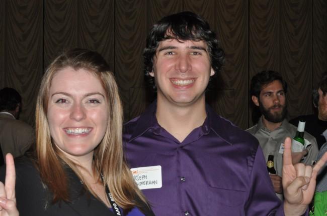 Katie Fry (M.S. '15) and Joseph Smitherman