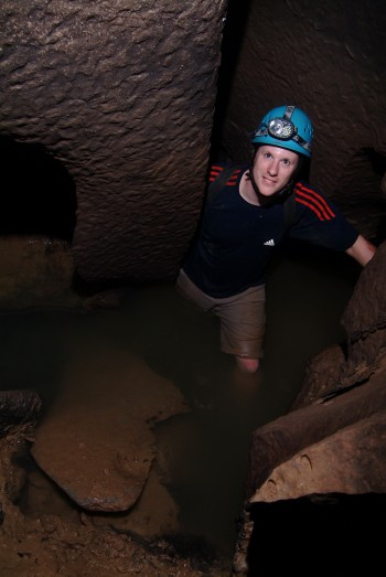 Jud Partin, a research associate at the University of Texas Institute for Geophysics, led the study. Photo by Raf Rios.