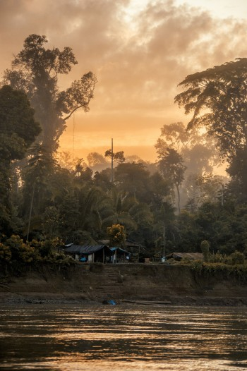 Sunrise over the Amazon rainforest.  Wout Salenbien