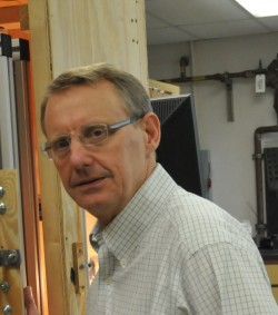 Peter Flemings is leading the DOE-supported methane hydrate project.