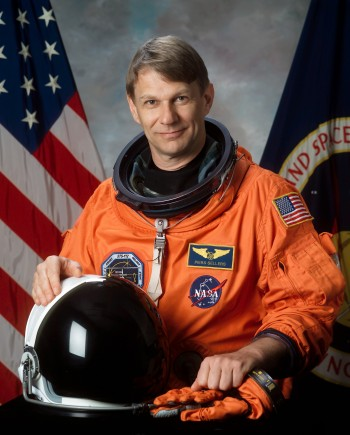 Piers Sellers, a NASA astronaut as well as a NASA deputy director, has been on three space shuttle missions and has done six space walks. NASA.