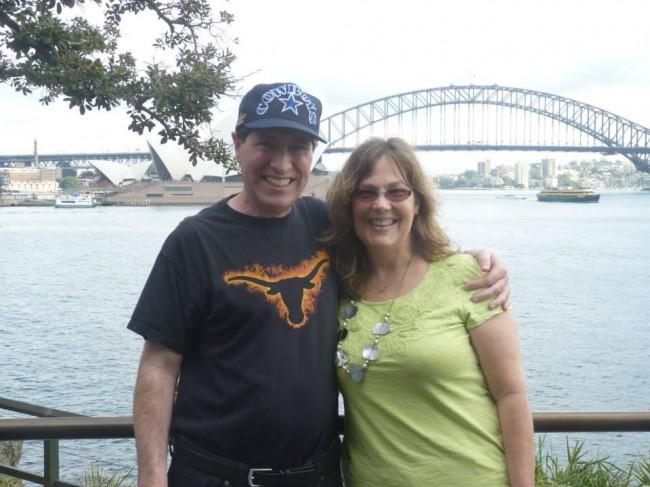 Steve Weiner (M.A. '81) and Kathy Weiner (B.S. '83)