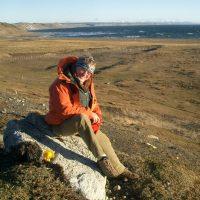 Ian Dalziel in Tierra del Fuego