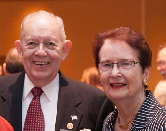 Walt (B.S. '54, M.A. '55) and Vada Boyle