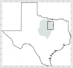 Location of Barnett Shale and Area of Interest