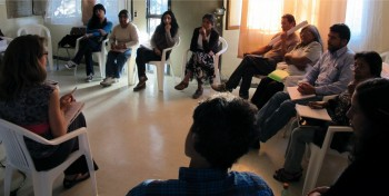 Dialogue between Suzanne Pierce and indigenous people in Chile's Atacama desert