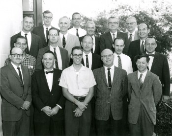Department of Geological Sciences Faculty 1964