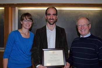 Tom Gleeson Recognized as the 29th Oliver Distinguished Lecturer