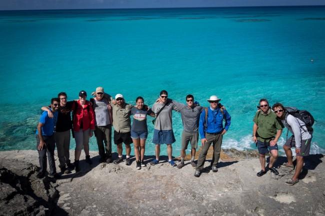 Group minus Kerans at Grotto Beach outcrops.