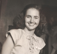 Rosamond Allen Haertlein at UT Austin in 1947