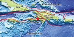 Haiti Fault Map