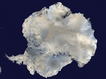 A satellite view of Antarctica is seen in this undated NASA handout photo obtained by Reuters on Feb. 6, 2012. (NASA handout via Reuters)