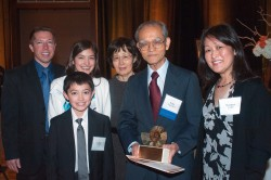 Yosio Nakamura inducted into Hall of Distinction 2013
