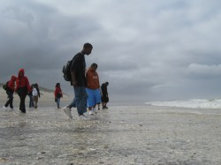 For many students, it was their first visit to the Pacific Ocean