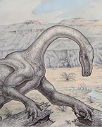 The discovery of Sarahsaurus suggests dinosaurs didn't spread throughout the world by overpowering other species, but by taking advantage of a natural catastrophe that wiped out their competitors.