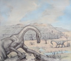 Sarahsaurus Reconstruction