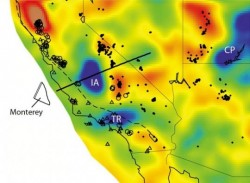Ancient tectonic plate discovered under California and Baja Mexico