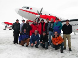 ICECAP team at McMurdo Station