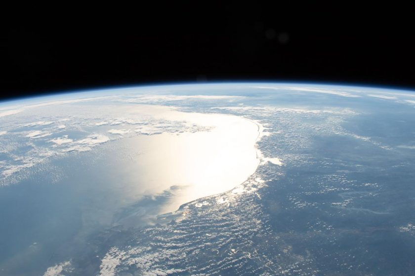Gulf of Mexico from space.