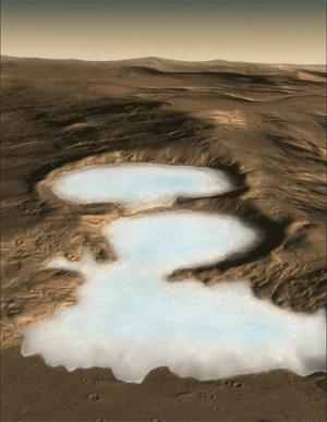 Imagery & Video for Mars Glaciers Science Paper by Holt et al., Nov. 21, 2008