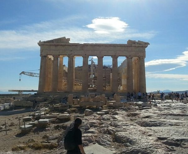 Figure 4. I got to visit the Parthenon at the Acropolis while on an extended layover in Athens, Greece last summer (2017).
